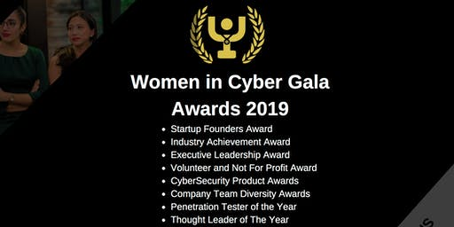 Volunteer for the Cyber Security Gala Awards (June 2019)