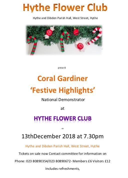 Christmas Flower Demonstration