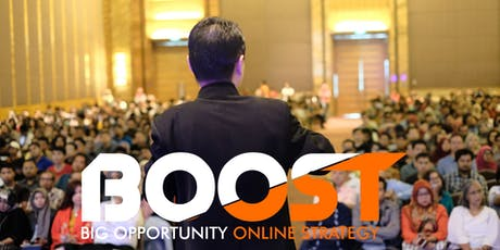 Seminar BIG Opportunity Online Strategy (BOOST) tickets