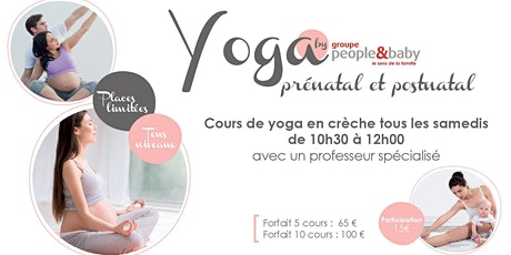 Cours de yoga en crèche - Bordeaux tickets