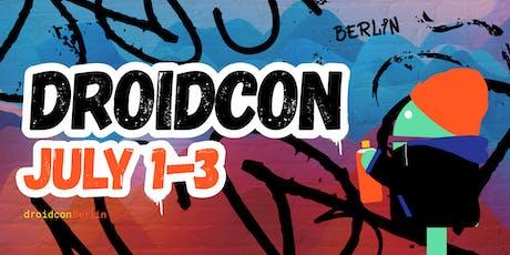 droidcon Berlin 2019 tickets