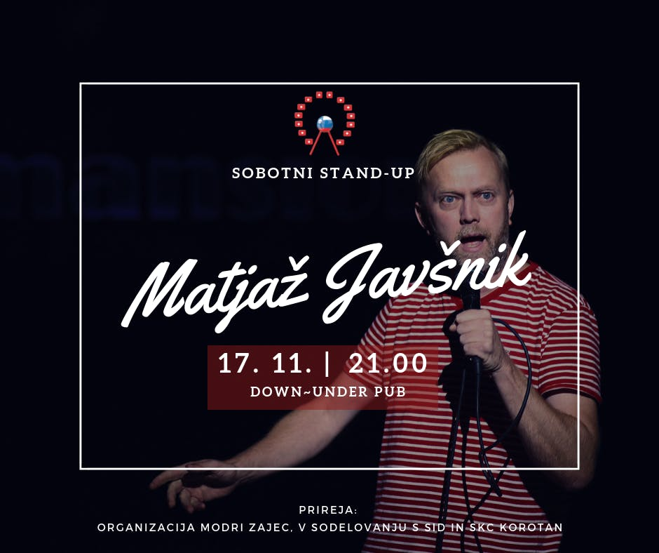 SLOVENSKI VIKEND 2018: STAND-UP SOBOTA