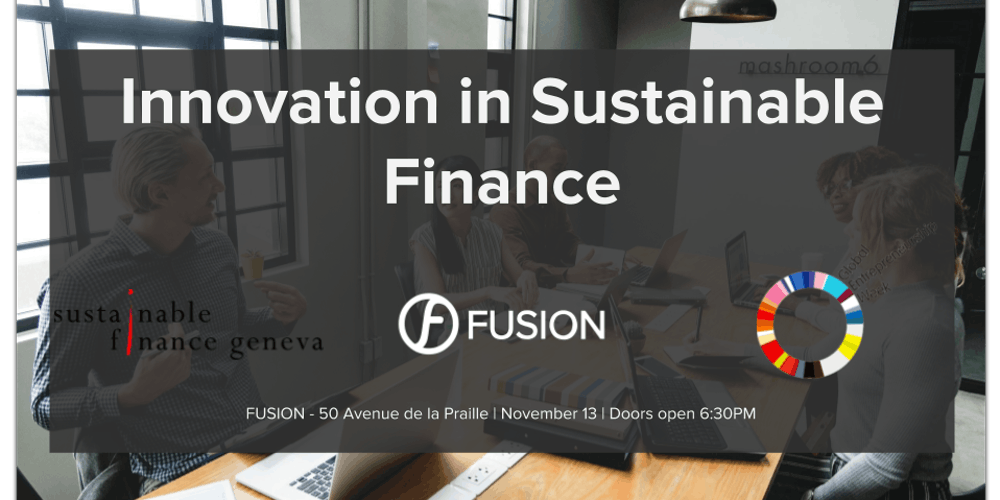 Innovation in Sustainable Finance
