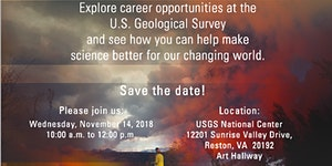 U.S.  Geological Survey Veterans Career & Outreach Day...