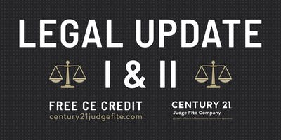 TREC Legal Update I and II - 1.16.19