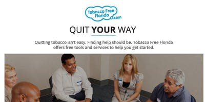 Quit Smoking Now: Florida Hospital-Memorial - Six Week Series