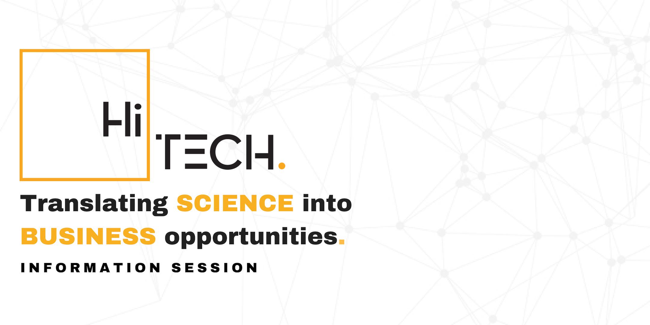 HiTech Information Session @ University of Mi