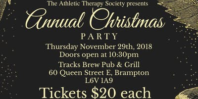 Athletic Therapy Christmas Party