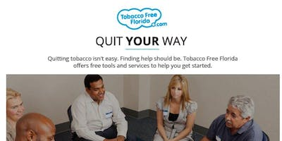 Quit Smoking Now: Florida Department of Health- Volusia County- Six Week Series