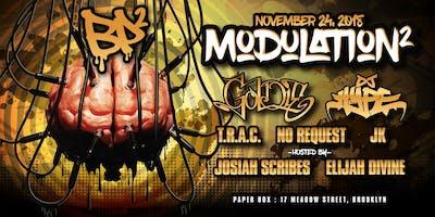 Modulation² - Goldie + DJ Hype
