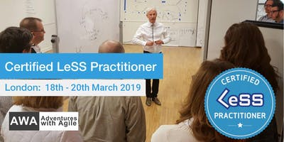 Certified LeSS Practitioner Course with Craig Larman - March 2019 | London