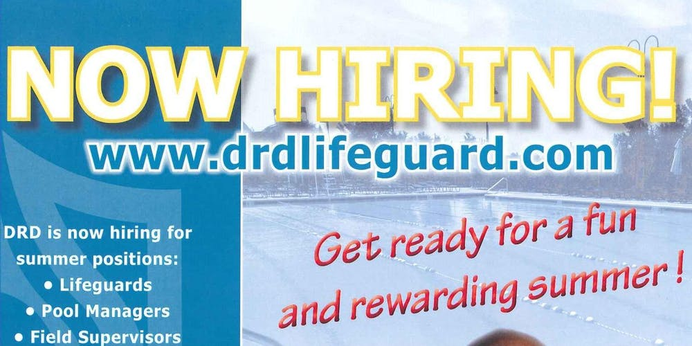 d6ddffe44f8d Lifeguard Hiring Event  4 Tickets