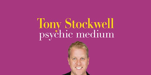 Psychic Medium Tony Stockwell.  Back in Mansfield, Notts