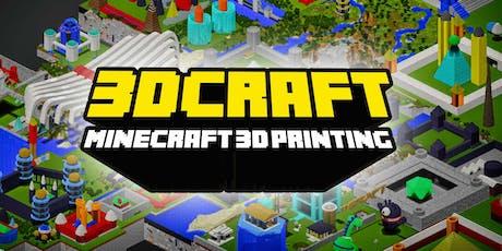 FabLabKids: 3Dcraft - Lerne 3D Modellieren und Drucken mit Minecraft! Tickets