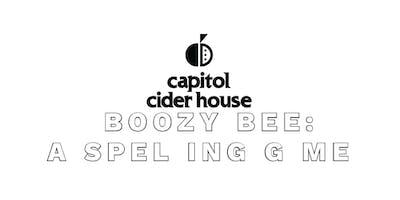 Boozy Bee: A Spelling Game - Washington - November Sunday 25
