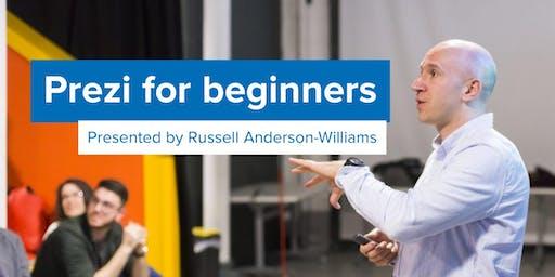 Prezi training for beginners, June 26
