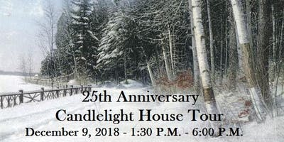 25th Anniversary Candlelight House Tour