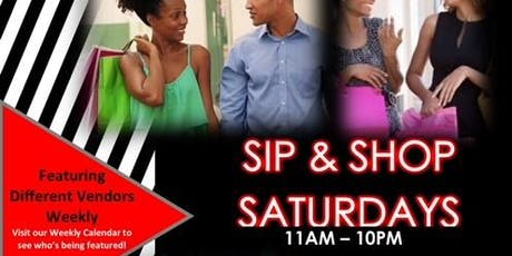 Sip & Shop Saturdays @ The Pop Up Store  tickets