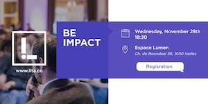 BE IMPACT #2 - Soirée LITA.co + Laudato SI Challenge