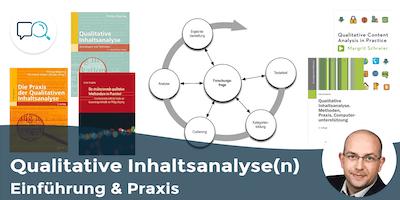 Qualitative Inhaltsanalyse(n) – Einführung & Praxis (MAXQDA-Unterstützung)