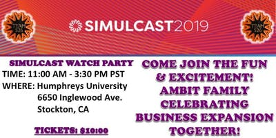 Simulcast Live Stream Watch Party 2019