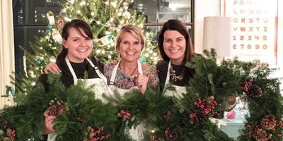 Wintry Wreaths at Ketchup City Creative