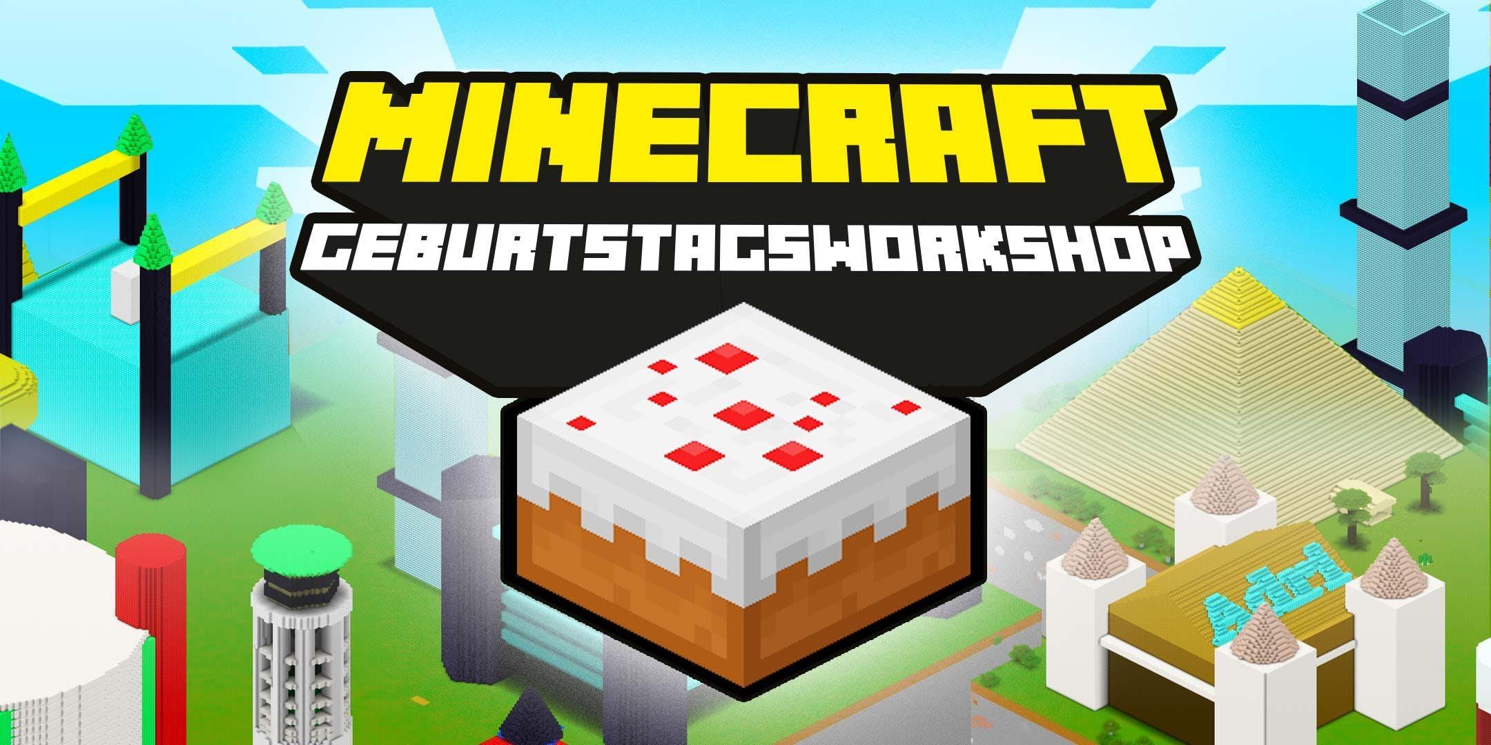 FabLabKids: Kindergeburtstag - Minecraft 3dCr