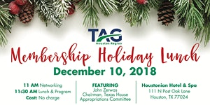 TAG 2018 Holiday Membership Luncheon