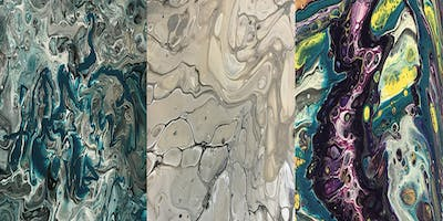 Acrylic Pour Book Covers