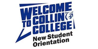 Collin College New Student Orientation-McKinney Campus-2019