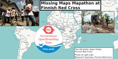 Missing Maps Mapathon at Finnish Red Cross - Dec 2018