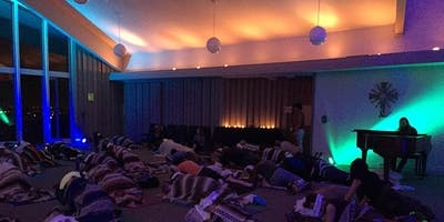 December Restorative Yoga & Sound Healing with Ranya & Gabriel Gold