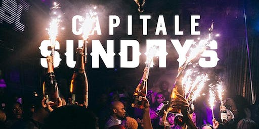 CAPITALE SUNDAYS at ABIGAIL || HIP-HOP SUNDAYS