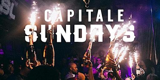 CAPITALE SUNDAYS at ABIGAIL || HIP-HOP SUNDAYS