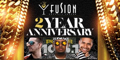 2 Year Anniversary Fusion Lounge Celebration