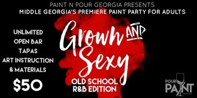 R&B/Old School Paint Party