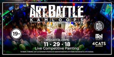 Art Battle Kamloops - November 29, 2018