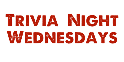 Trivia Night Wednesdays