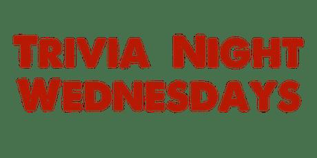 Trivia Night Wednesdays tickets
