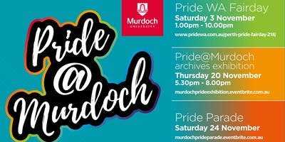 Pride @ Murdoch Archives Exhibition in collaboration with OutinPerth
