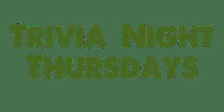 Trivia Night Thursdays tickets