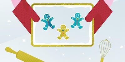 Kids Gingerbread Cookie Decorating