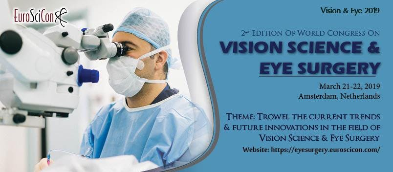 2nd World Congress on Vision Science & Eye Su