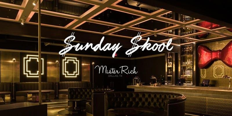 #SundaySkool at Mister Rich Sunday November 1