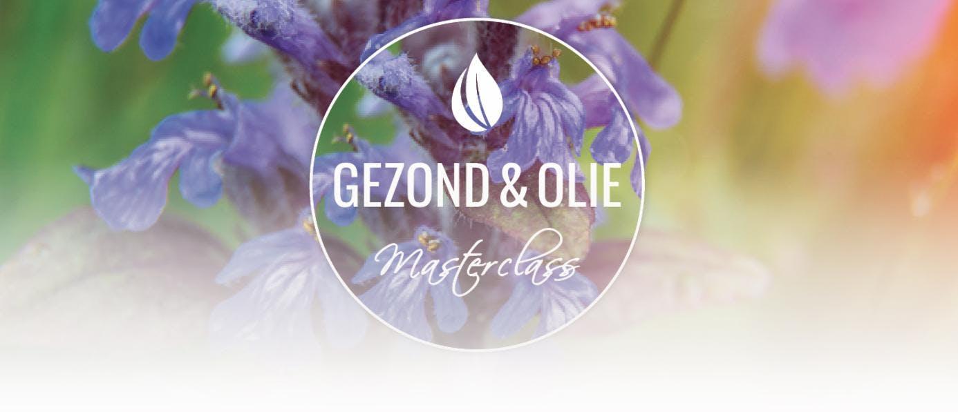 11 februari Stress en slaap - Gezond & Olie Masterclass - omg. Soest