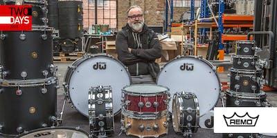 TwoDays 2018: REMO I Drum Tuning mit Rossi Roßberg