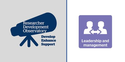 Productive research teams, effective leadership (Chelmsford)