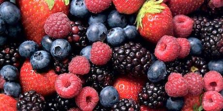 Berries - Blackberries, Blueberries, and Strawberries tickets