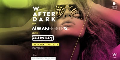 Free Admission to W After Dark at W Miami Rooftop