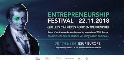 Entrepreneurship Festival ESCP EUROPE
